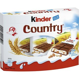 Kinder Country x9 211g